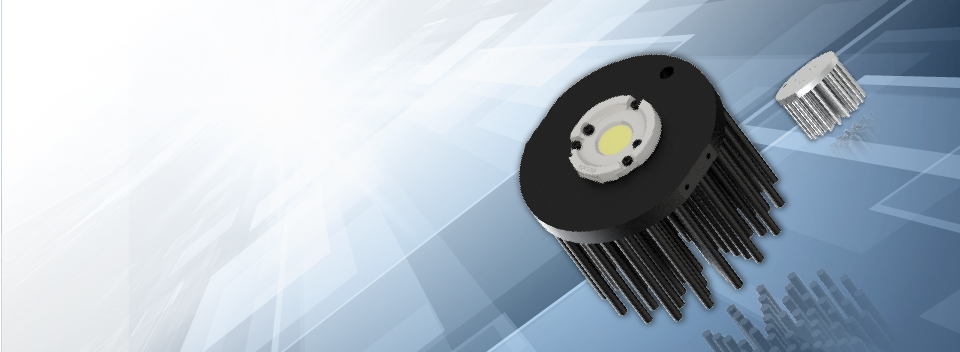 New LED Pin Fin heat sink 111mm for shop lighting