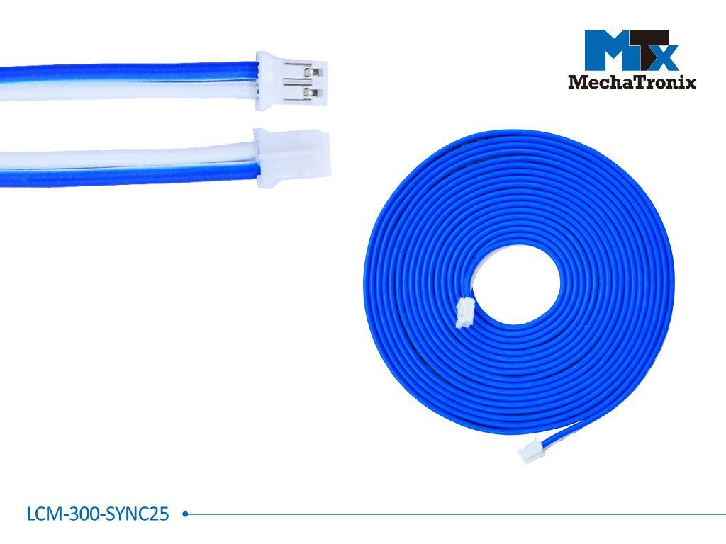 Mechatronix LCM-300-SYNC25 Dimming synchronization cable for Mean Well LCM-25 LED driver; L300cm