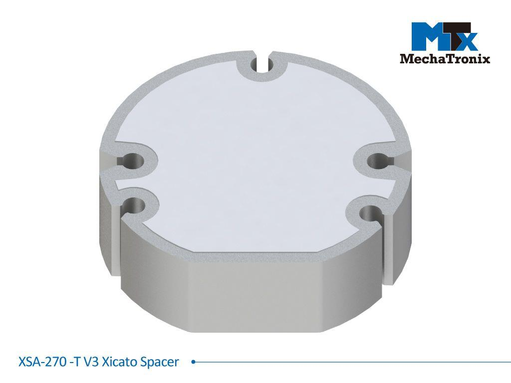 Mechatronix XSA-270-T V3 Xicato spacer for conversion XTM to XIM; ø44.8mmxH14.3mm