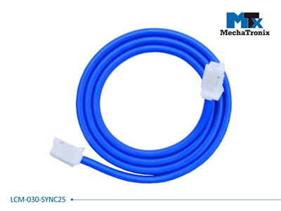 Mechatronix LCM-030-SYNC25 Dimming synchronization cable for Mean Well LCM-25 LED driver; L30cm