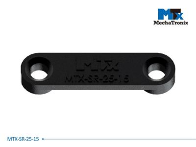 Mechatronix MTX-SR-25-15 Mounting pitch 25mm Zhaga Book 11 cable strain reliefs with cable / wire gap 1.5mm for MTX standard LED Coolers
