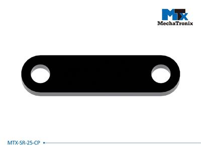 Mechatronix MTX-SR-25-CP Mounting pitch 25mm Zhaga Book 11 cable clamp counterpart to be used in combination with Strain Relief parts MTX-SR-25-05 / MTX-SR-25-15