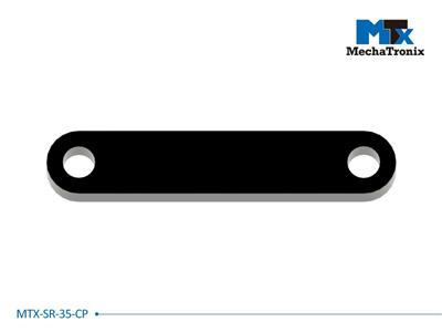 Mechatronix MTX-SR-35-CP Mounting pitch 35mm Zhaga Book 3 cable clamp counterpart to be used in combination with Strain Relief parts MTX-SR-35-05 / MTX-SR-35-15