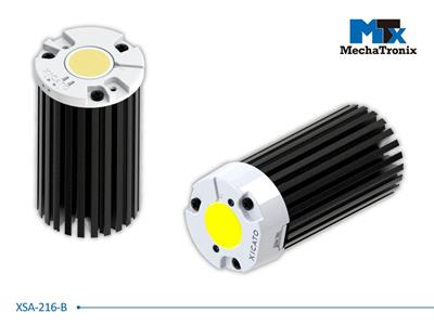 Mechatronix XSA-216-B LED Star Cooler for Xicato XSM, XIM, XTM LED modules; Cooling performance 1,200-2,400 lm; ø47mmxH80mm; Rth 4.2°C/W; Black Anodized
