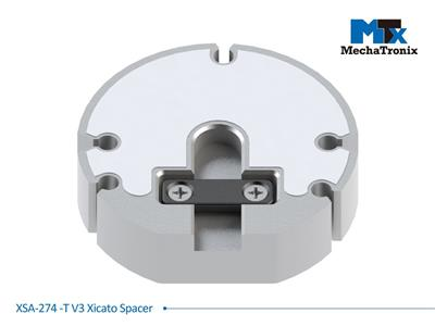 Mechatronix XSA-274-T V3 Xicato spacer for conversion XTM to XSM with Cable strain relief; ø44.8mmxH11.3mm
